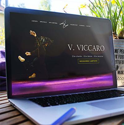 Breizhdez.fr : Réalisation de site web et blog : Art Corporel - Danseuse et Chorégraphe : Virginie VICCARO