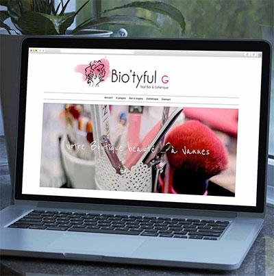 Breizhdez.fr : Réalisation de site web et blog : Nail bar et Esthétique, Boutique à Vannes
