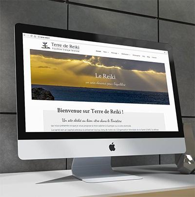 Breizhdez.fr : Réalisation de site web et blog : Reiki, Massage et Méditation