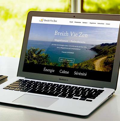 Breizhdez.fr : Réalisation de site web et blog : Magnétiseuse – Radiesthésiste
