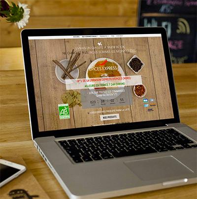 Breizhdez.fr : Réalisation de site web et blog : Service de livraison express d'épices, d'herbes et d'aromates à domicile.