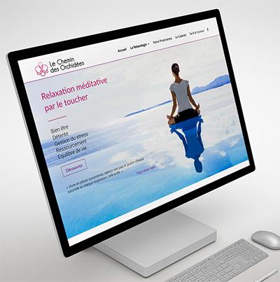 Breizhdez.fr : Réalisation de site web et blog : Relaxologie de pleine conscience