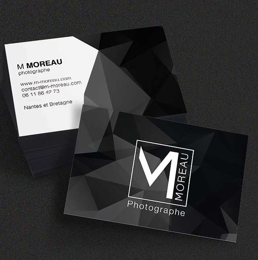 Création d'un logo, et d'une carte de visite pour Photographe