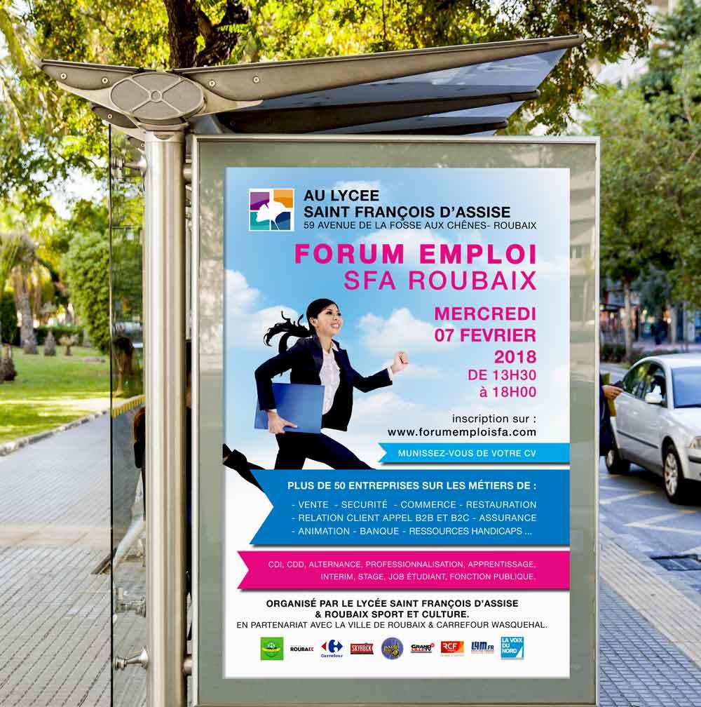 Affiche Forum Emploi
